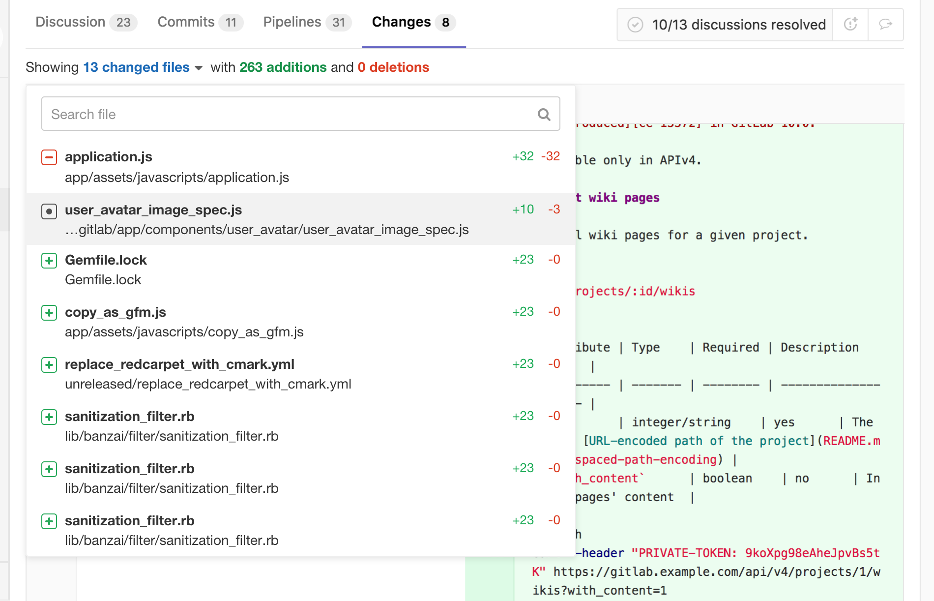 Index · Merge requests · Project · User · Help · GitLab